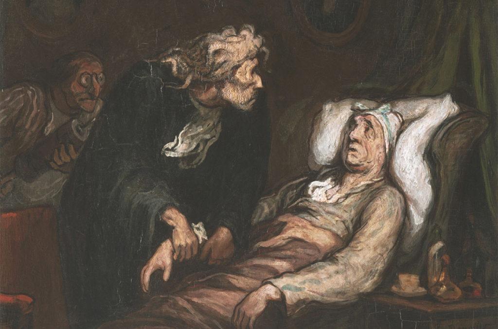 Le Malade imaginaire av Honoré Daumier